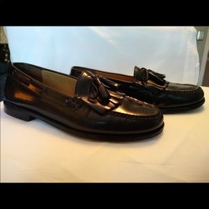 Men's Cole Haan Black Kilt/Tassel Loafers